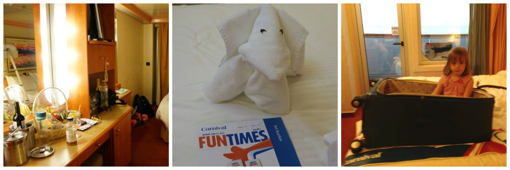 Carnival Freedom Stateroom Collage